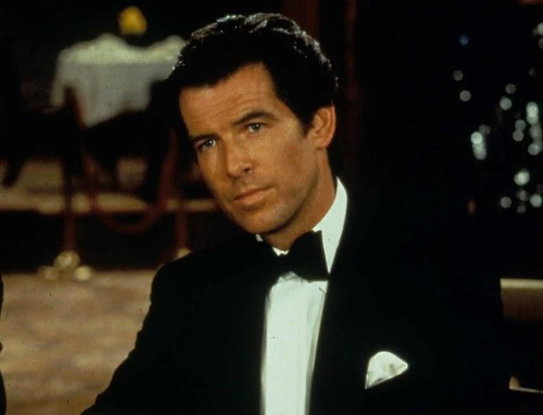 Pierce Brosnan starring as James Bond