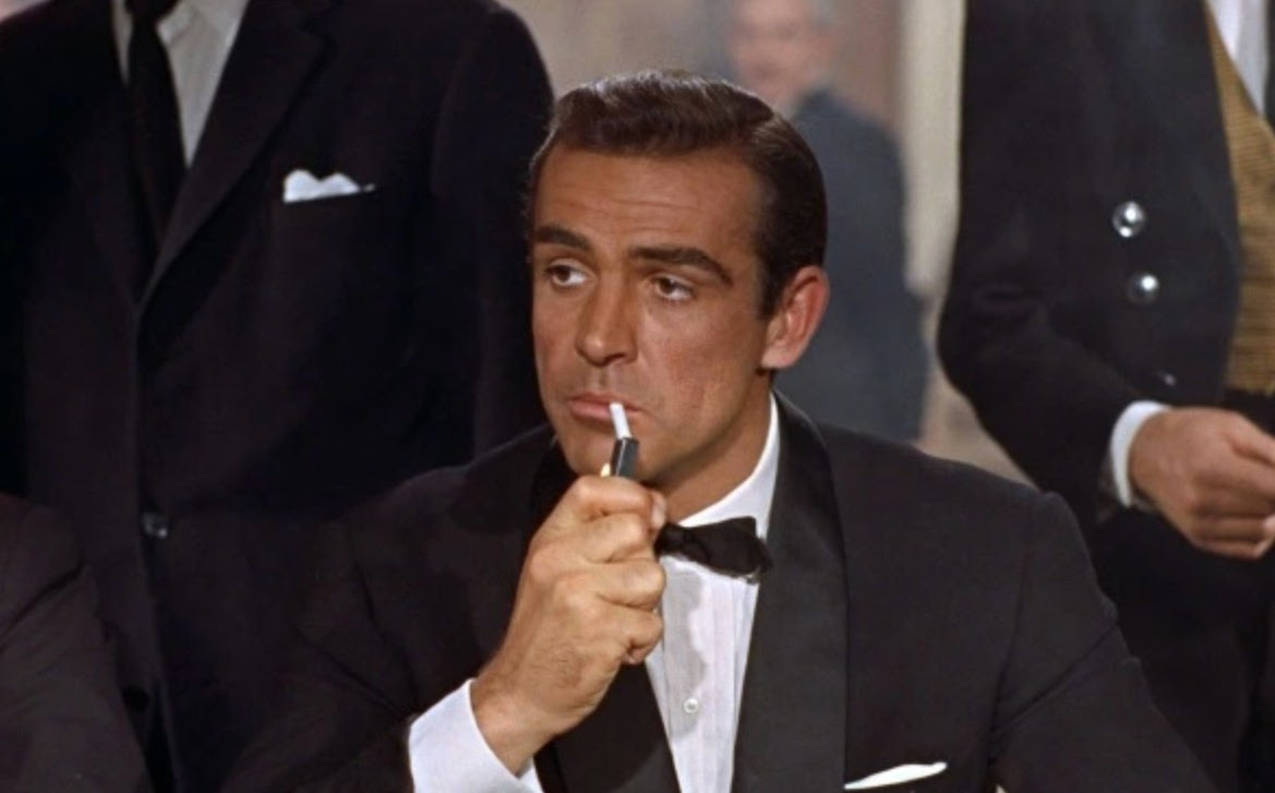 Sean Connery stars as James Bond in Dr No