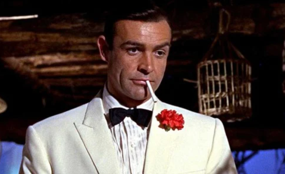 Sean Connery in Goldfinger