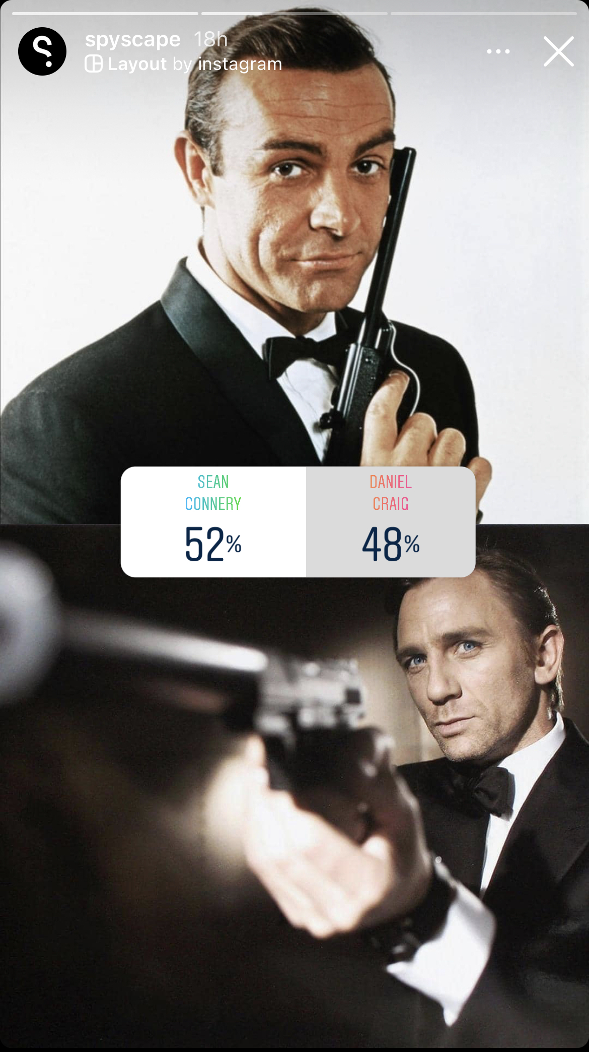 Sean Connery wins vote for the best Bond over Daniel Craig