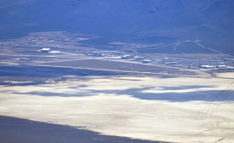 Aerial photo of Area 51. Credit: Gabriel Zeifman