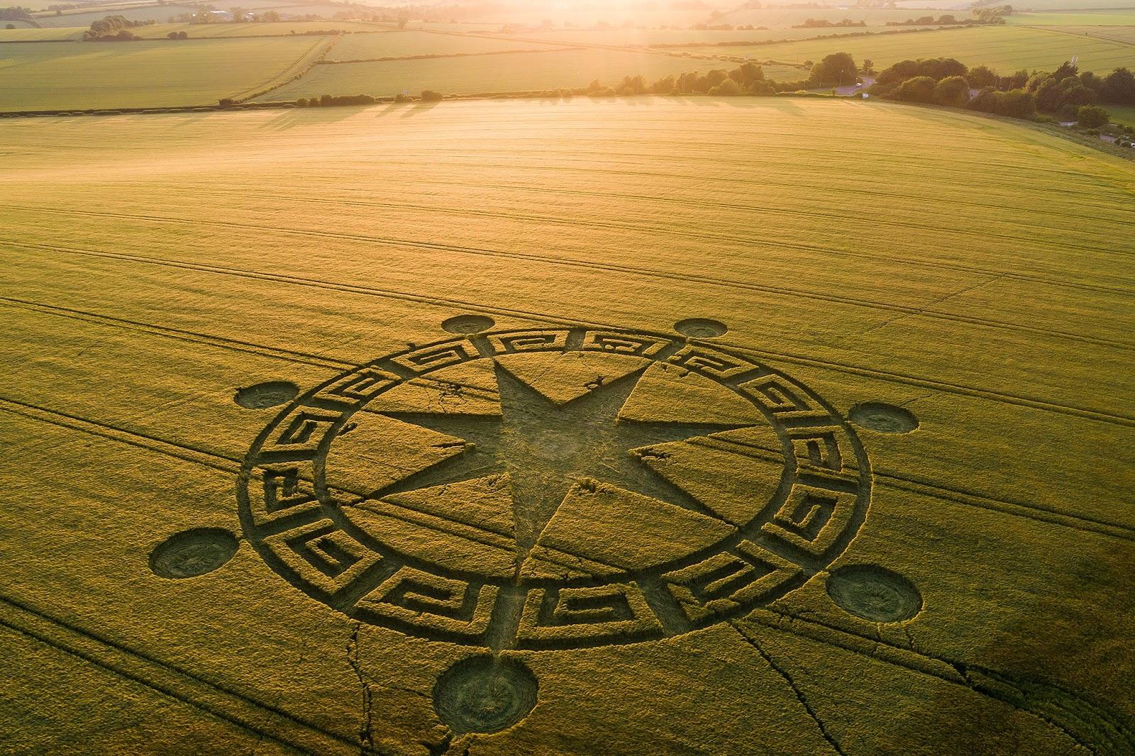 England's crop circle mystery
