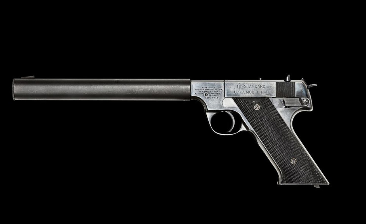 High Standard .22 was used during WWII and the Cold War by US spies