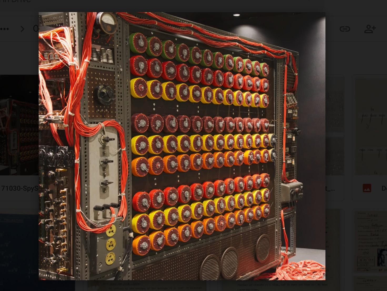 SPYSCAPE's Bombe machine