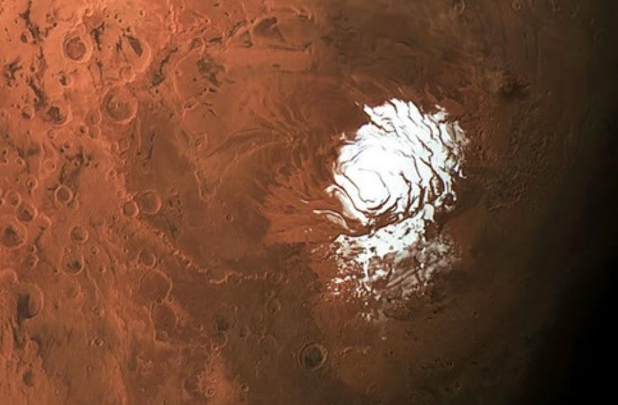 Mars' lake