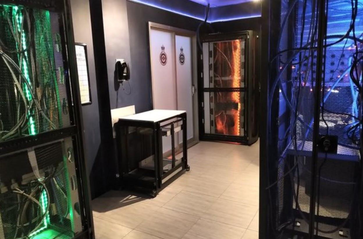 The Recruit escape room