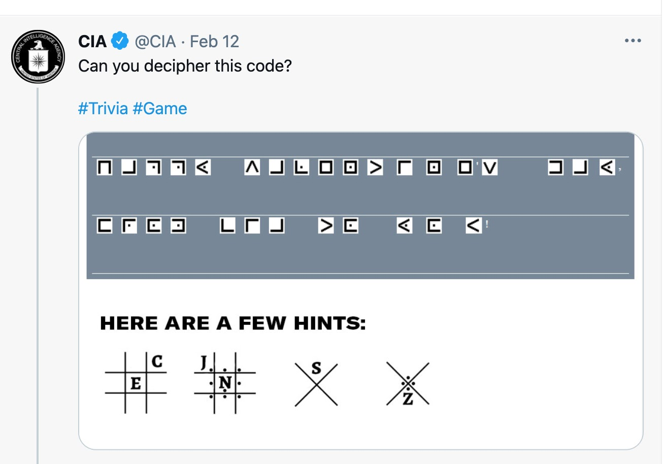 CIA Cipher