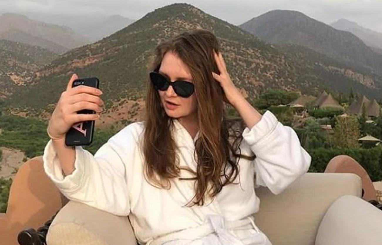 Anna Sorokin living the platinum card dream in Morocco