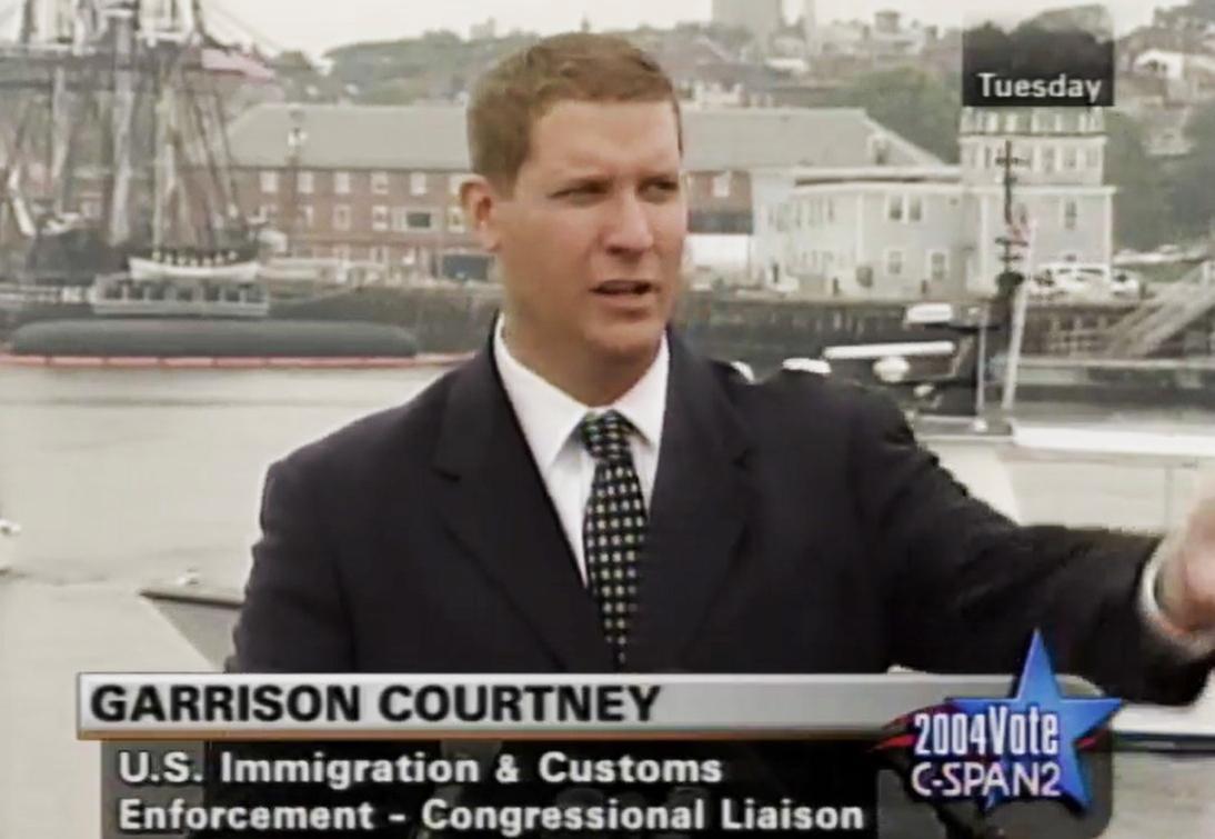Garrison Kenneth Courtney was a military 'spy'