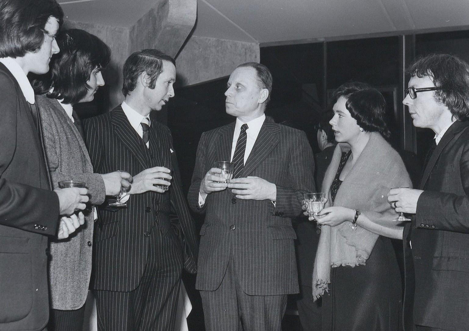 Anatoli Kaplin, Soviet Ambassador to Ireland (center, right)