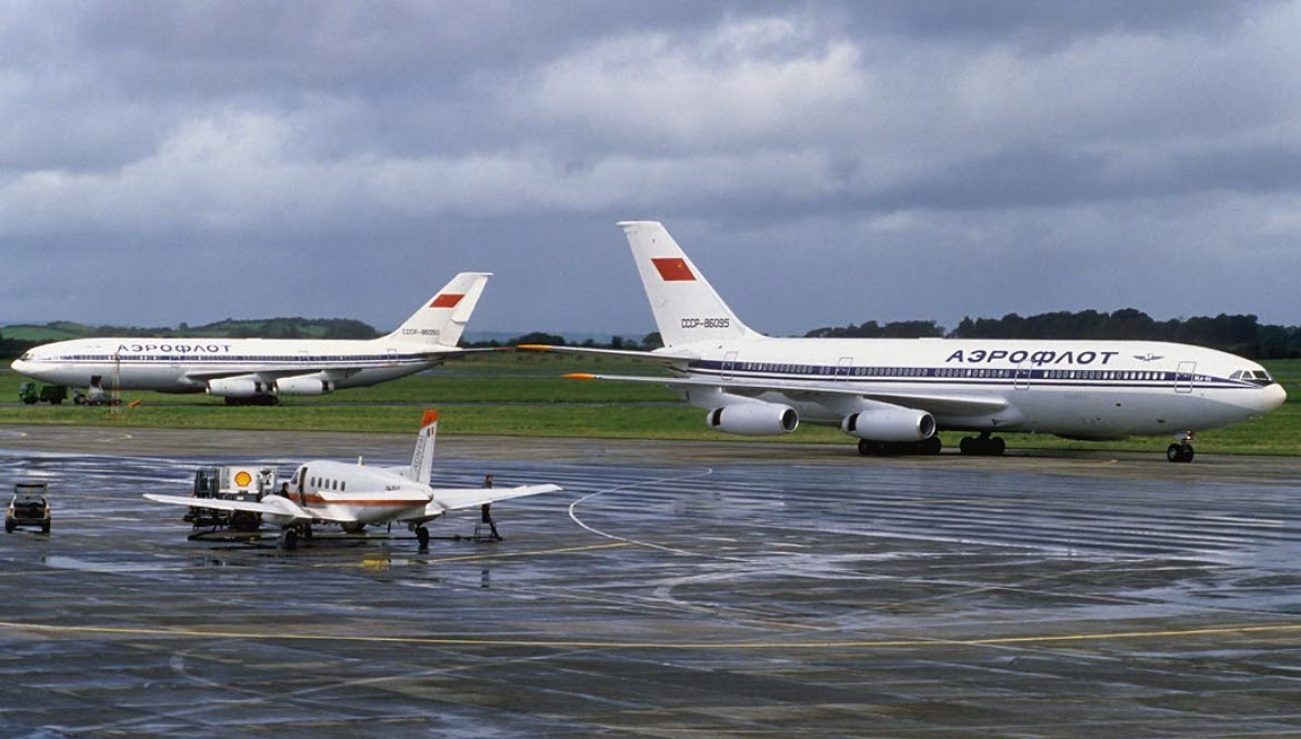 Aeroflot used Shannon airport as a hub