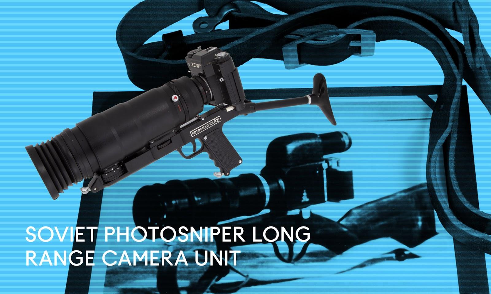 Zenit camera with photosniper shoulder harness