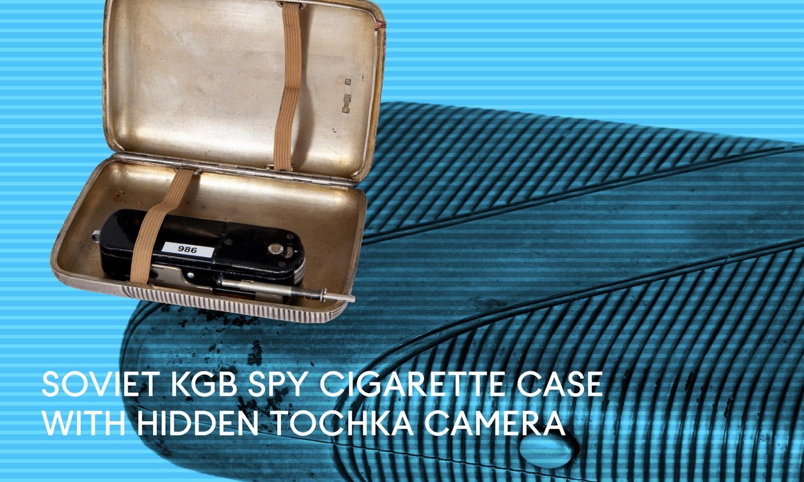 Cigarette case camera