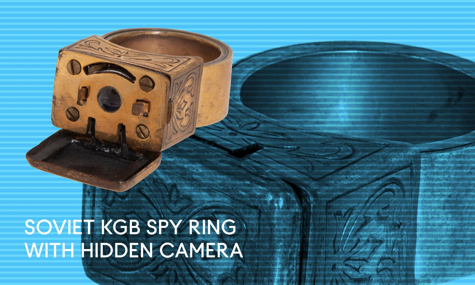 Spy ring with camera