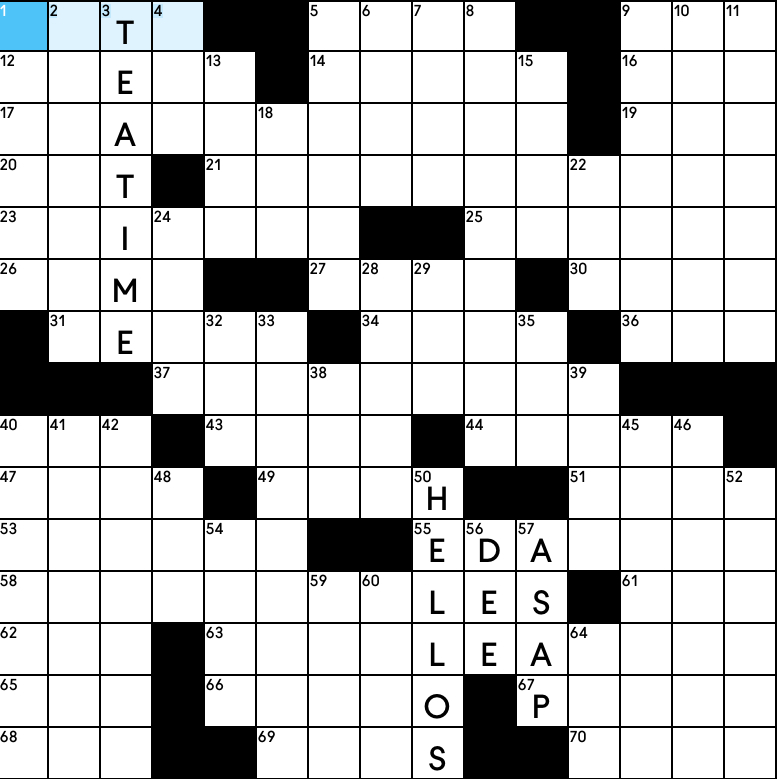 Mole Hunt crossword puzzle from SPYSCAPE