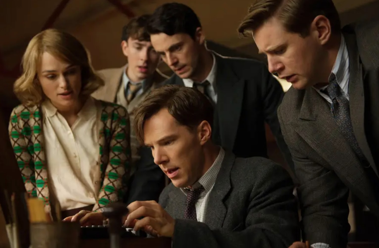 The Imitation Game with Benedict Cumberbatch