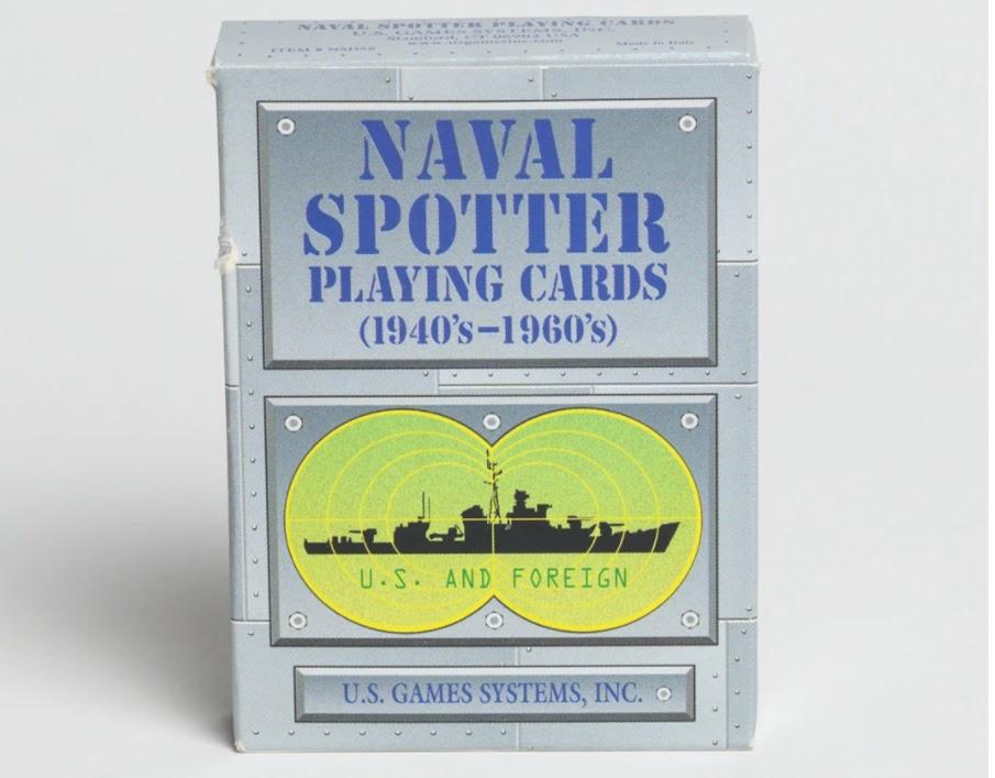 Naval Spotter Cards