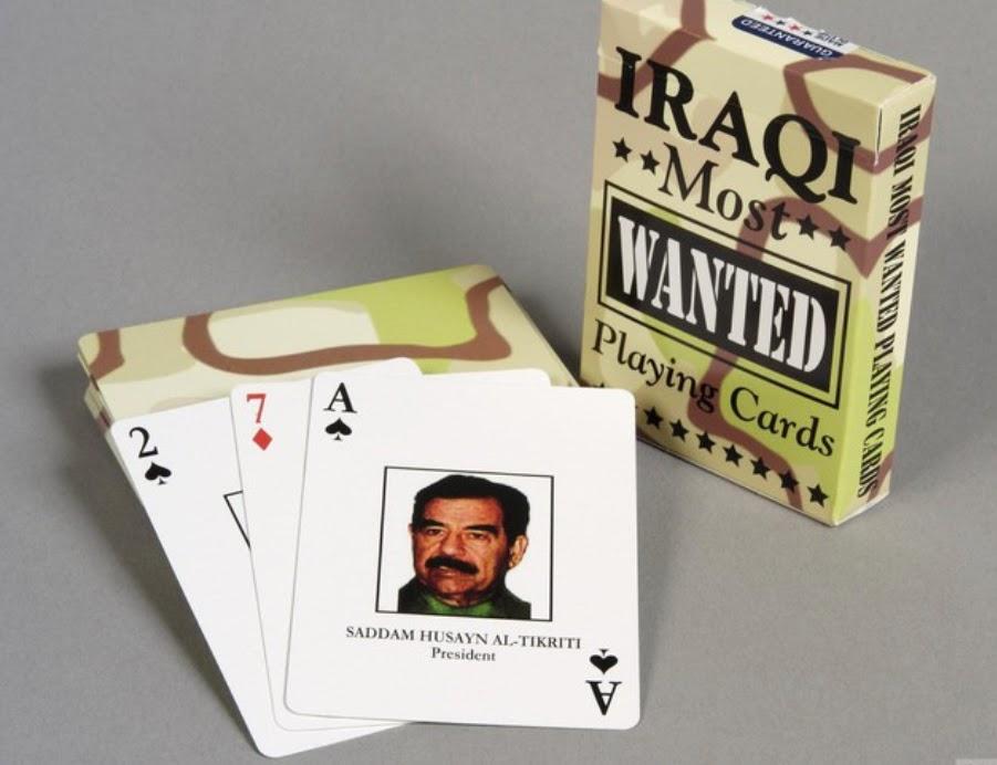 Iraqi Most Wanted cards