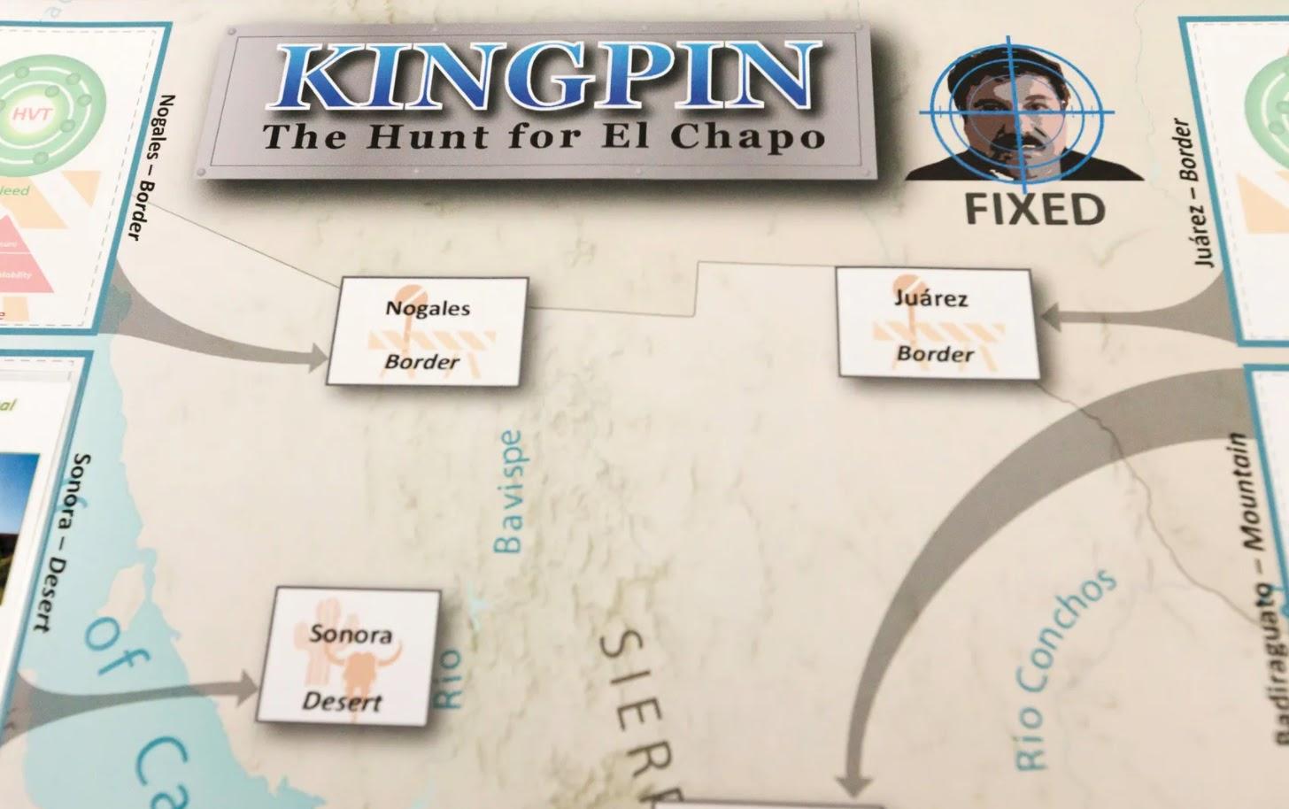 The CIA's Kingin, The Hung for El Chapo