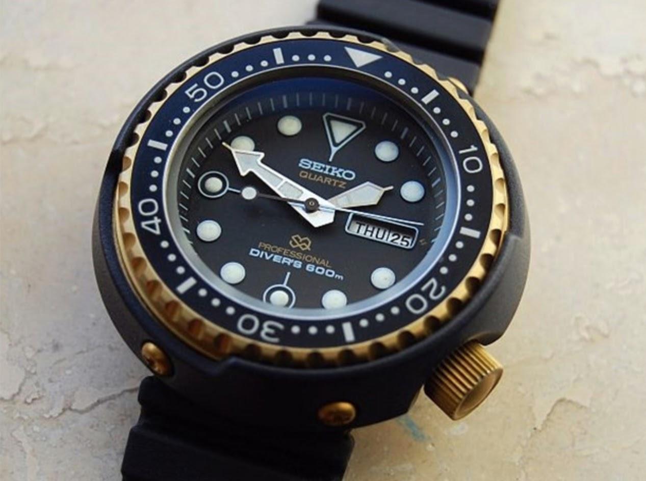 Seiko 007 watch