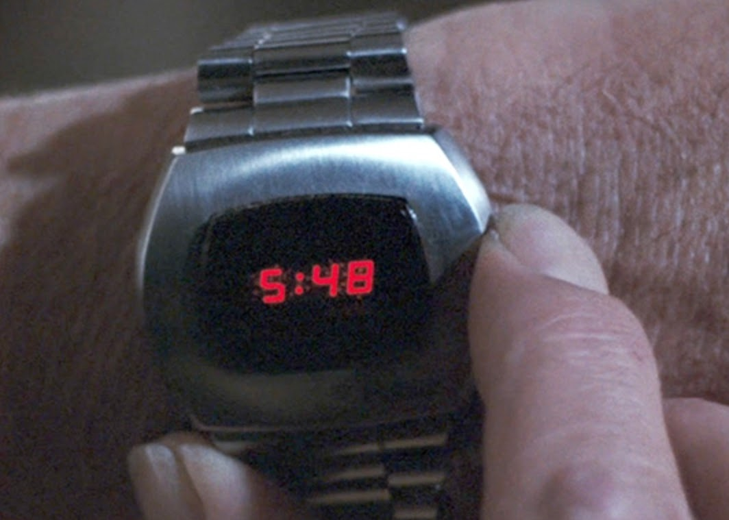 Digital watch 007