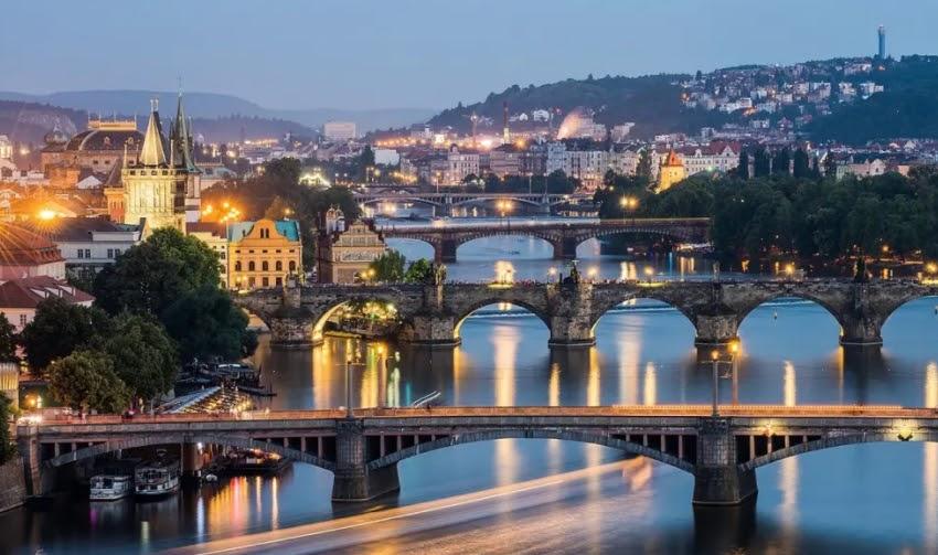 Spy City was filmed in Prague