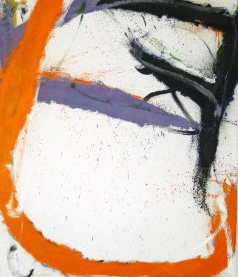 Inside Orange by Norman Bluhm