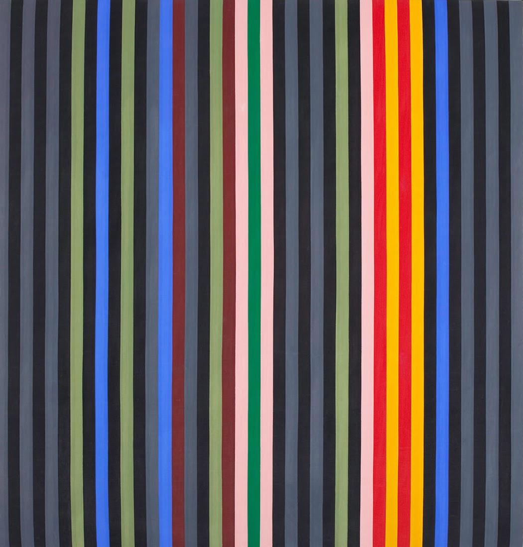 Black Rhythm by Gene Davis