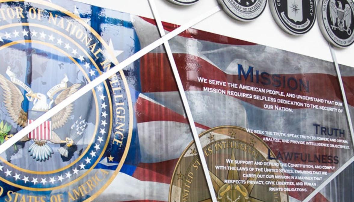 US National Intelligence logos