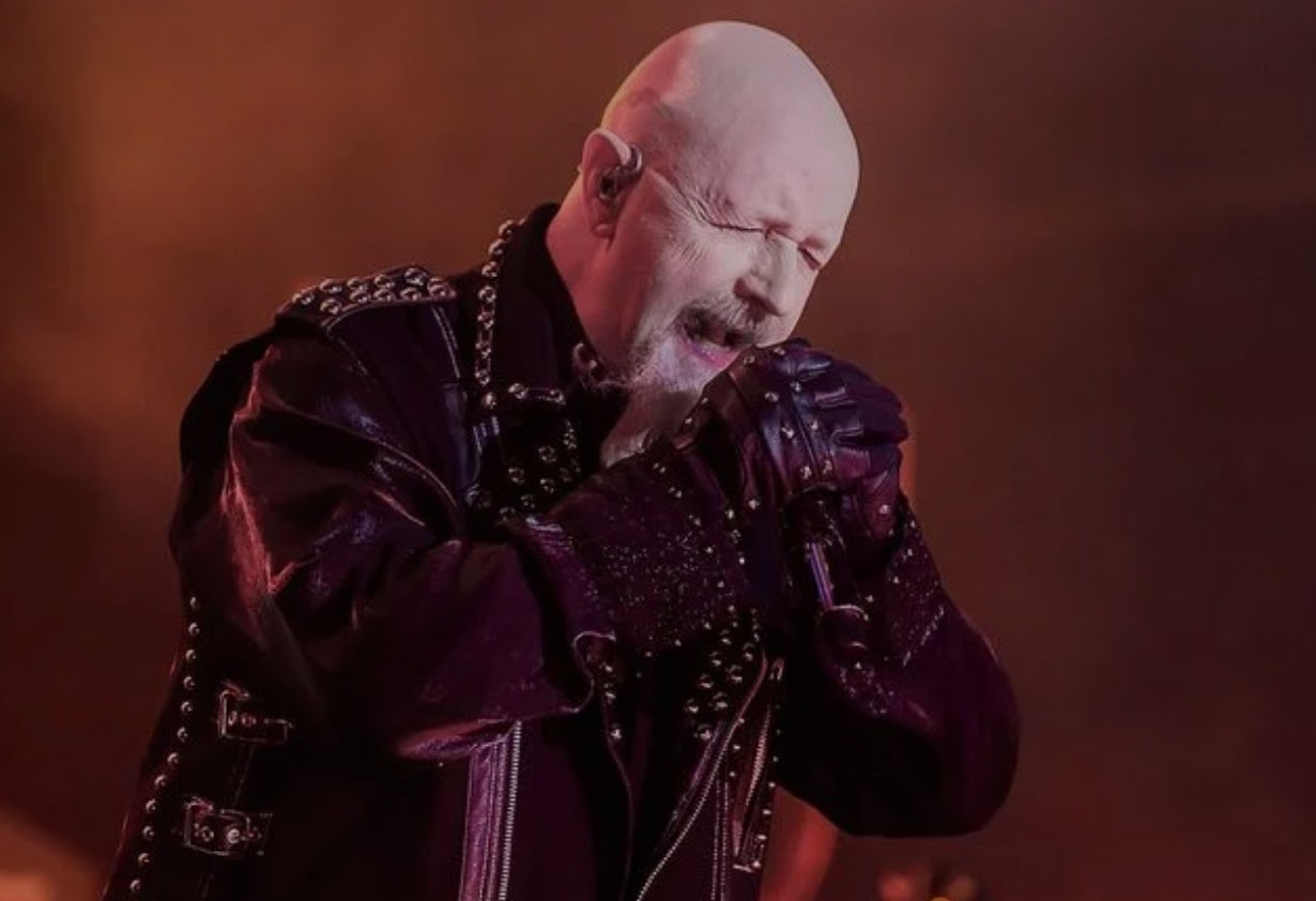Judas Priest lead singer Rob Halford
