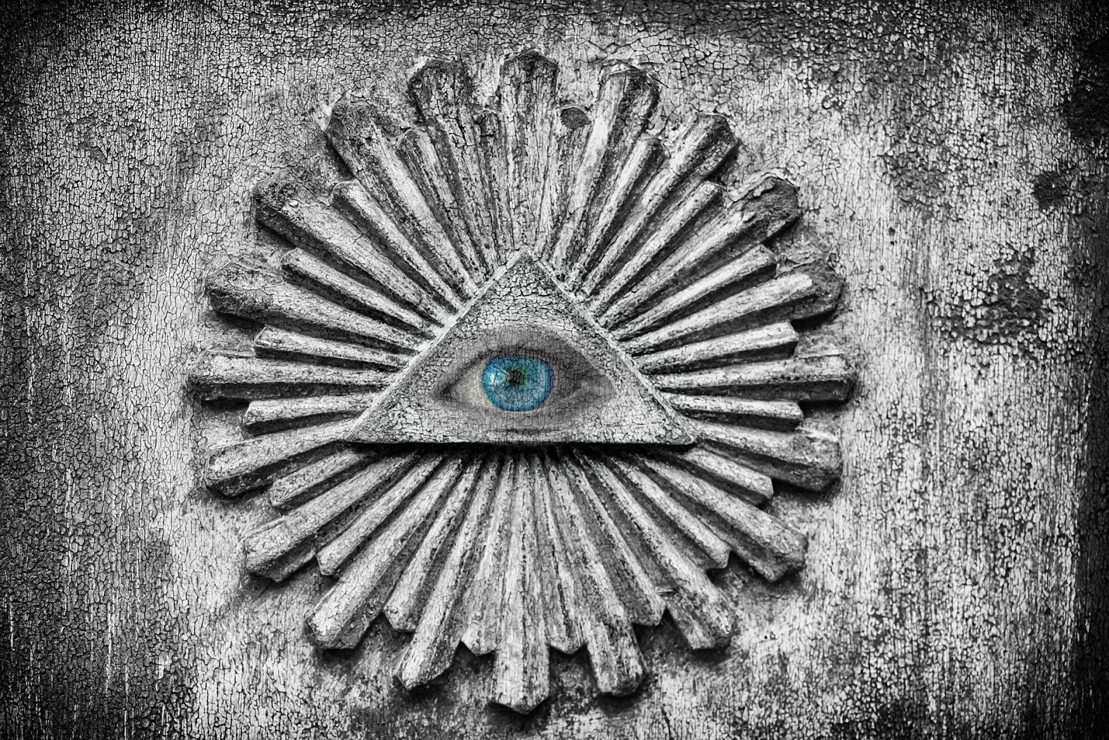 The Illuminati adopted the all-seeing eye as a symbol