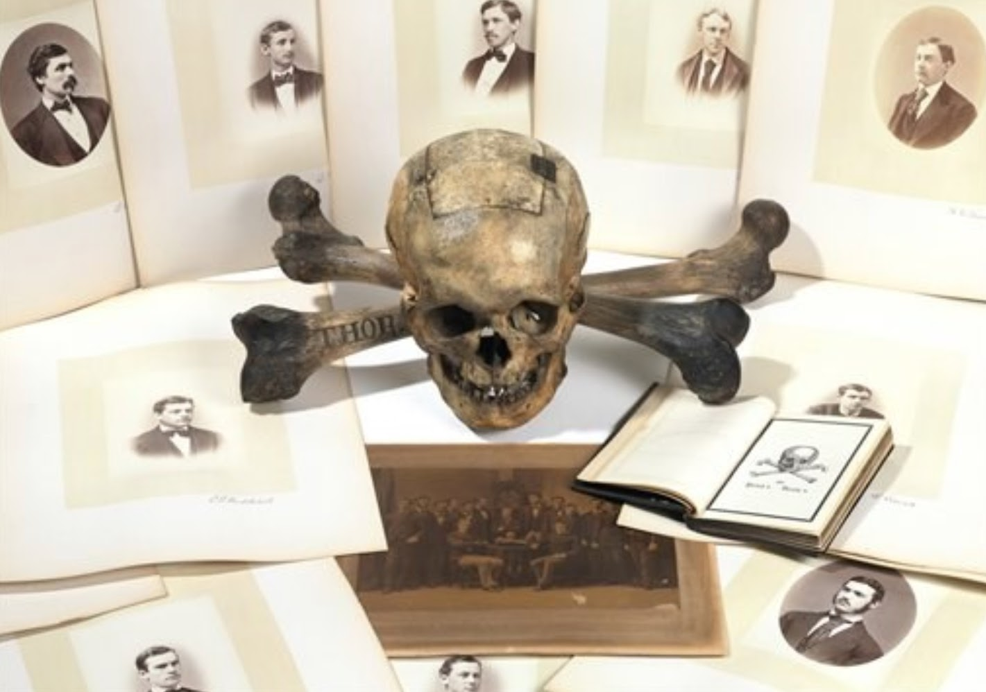Christie's auctioned off an 1872 ballot box belonging to Yale's secretive Skull and Bones society