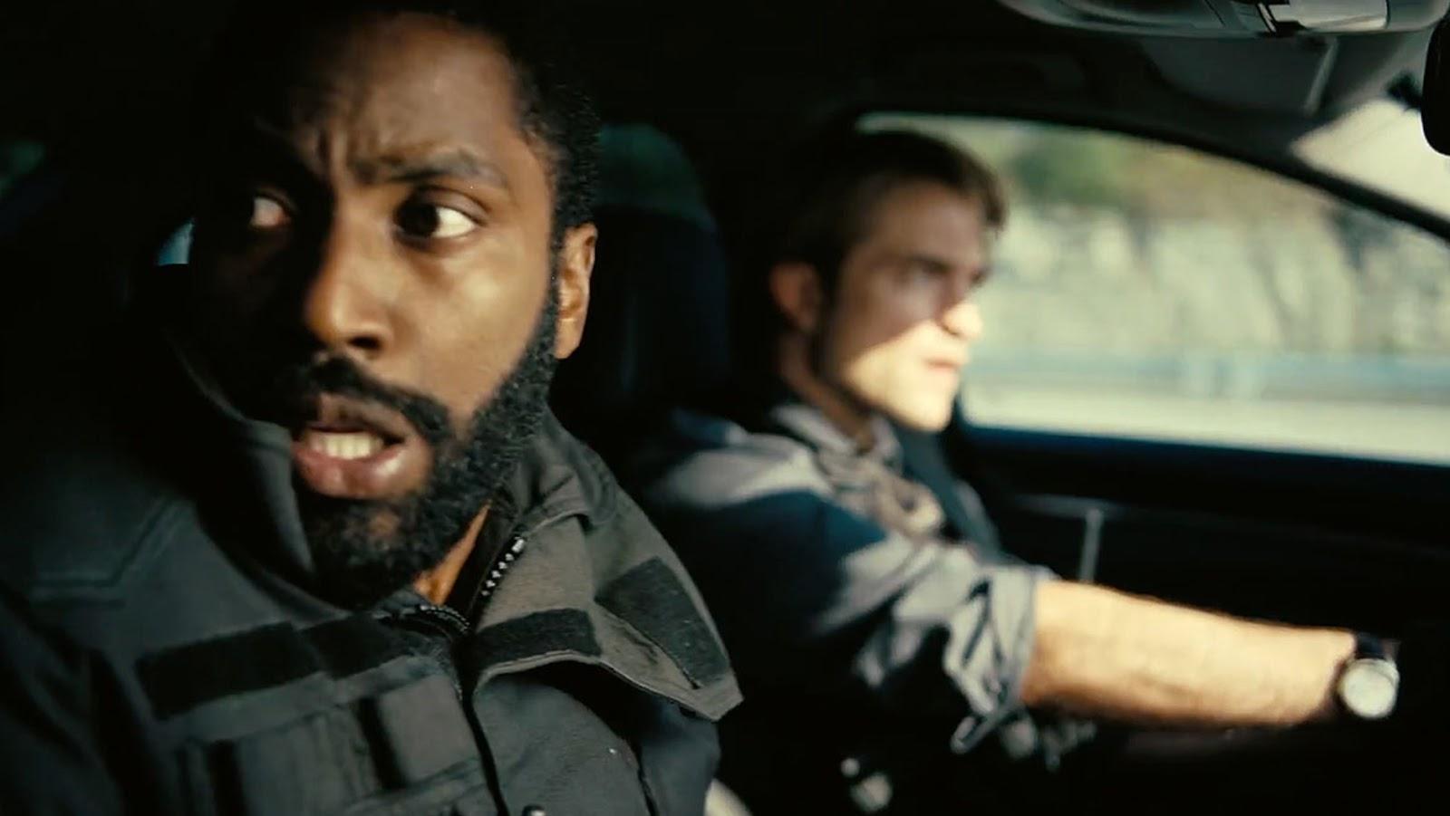 John David Washington and Robert Pattinson star in Tenet