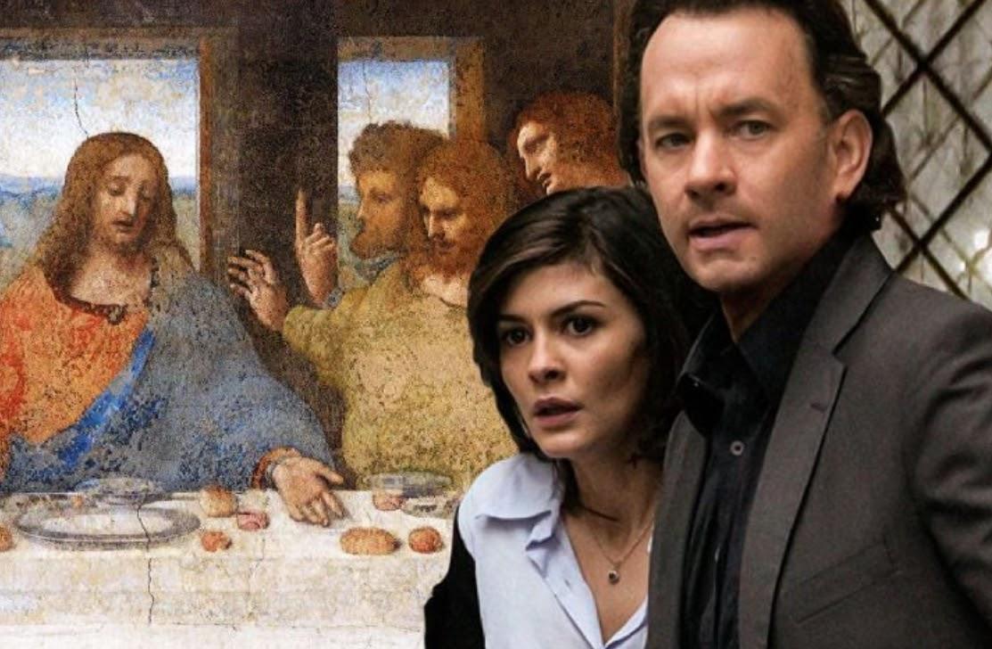 The Da Vinci Code follows Robert Langdon (Tom Hanks) and Sophie Neveu (Audrey Tautou)