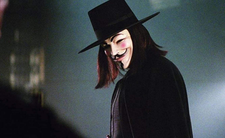 V is for Vendetta mask