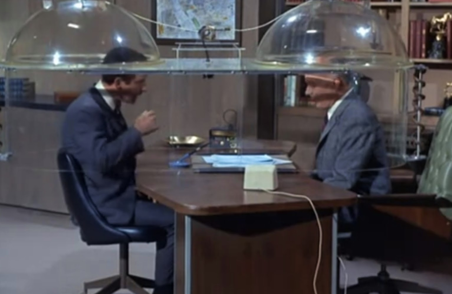 Get Smart's Cone of Silence
