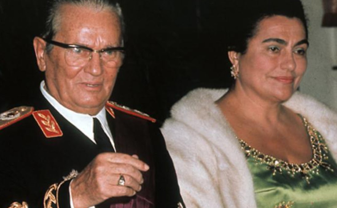 Tito and his wife