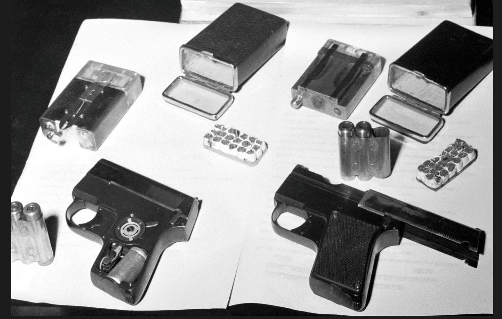 KGB Cold War Spy Gadgets