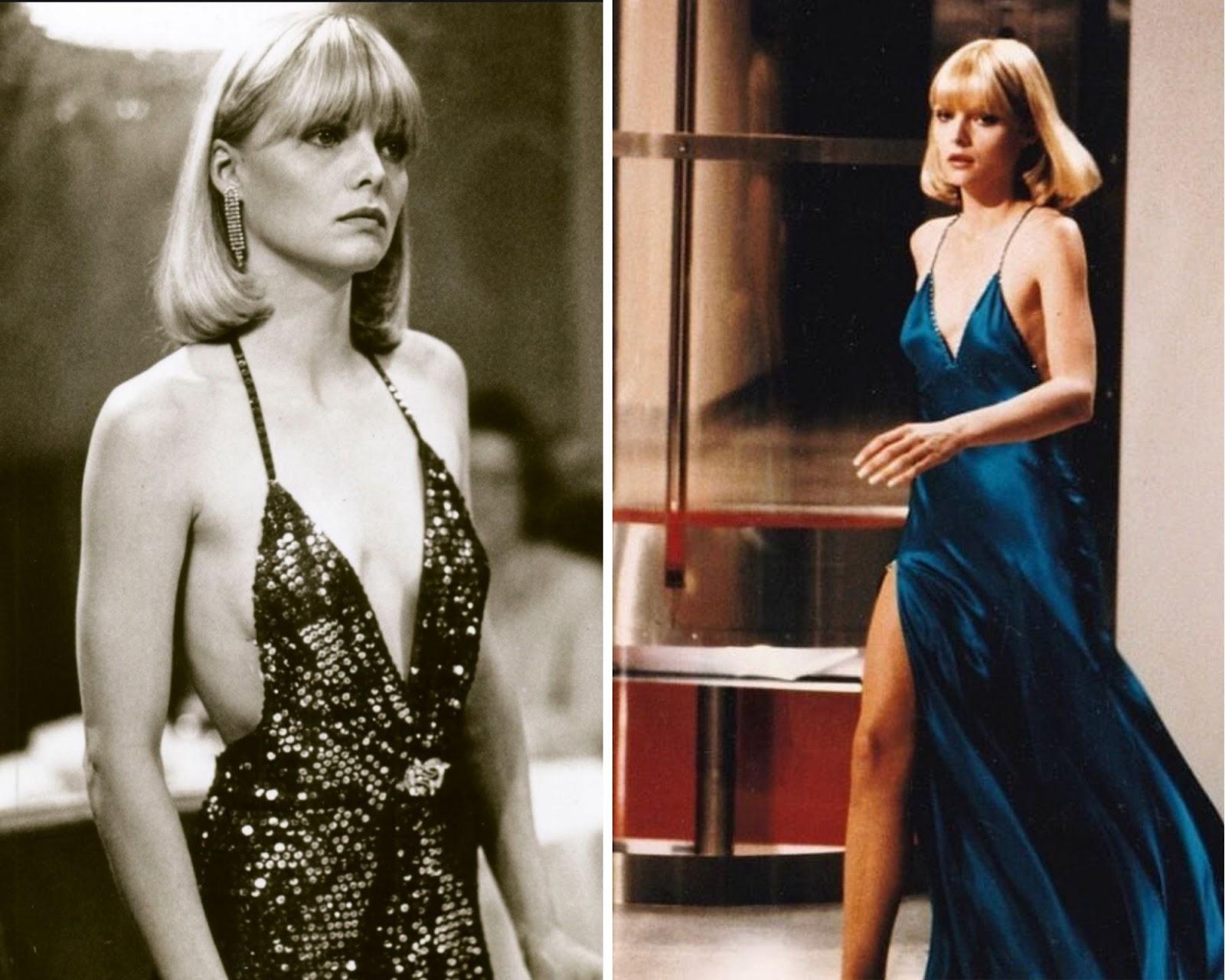 Elvira Hancock (Michelle Pfeiffer) in Scarface