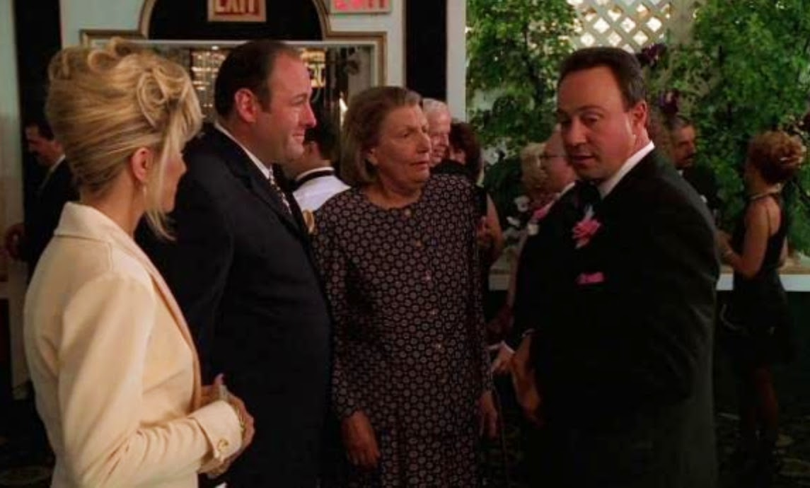 Anthony Borgese played capo Larry Barese (right), a recurring character on The Sopranos