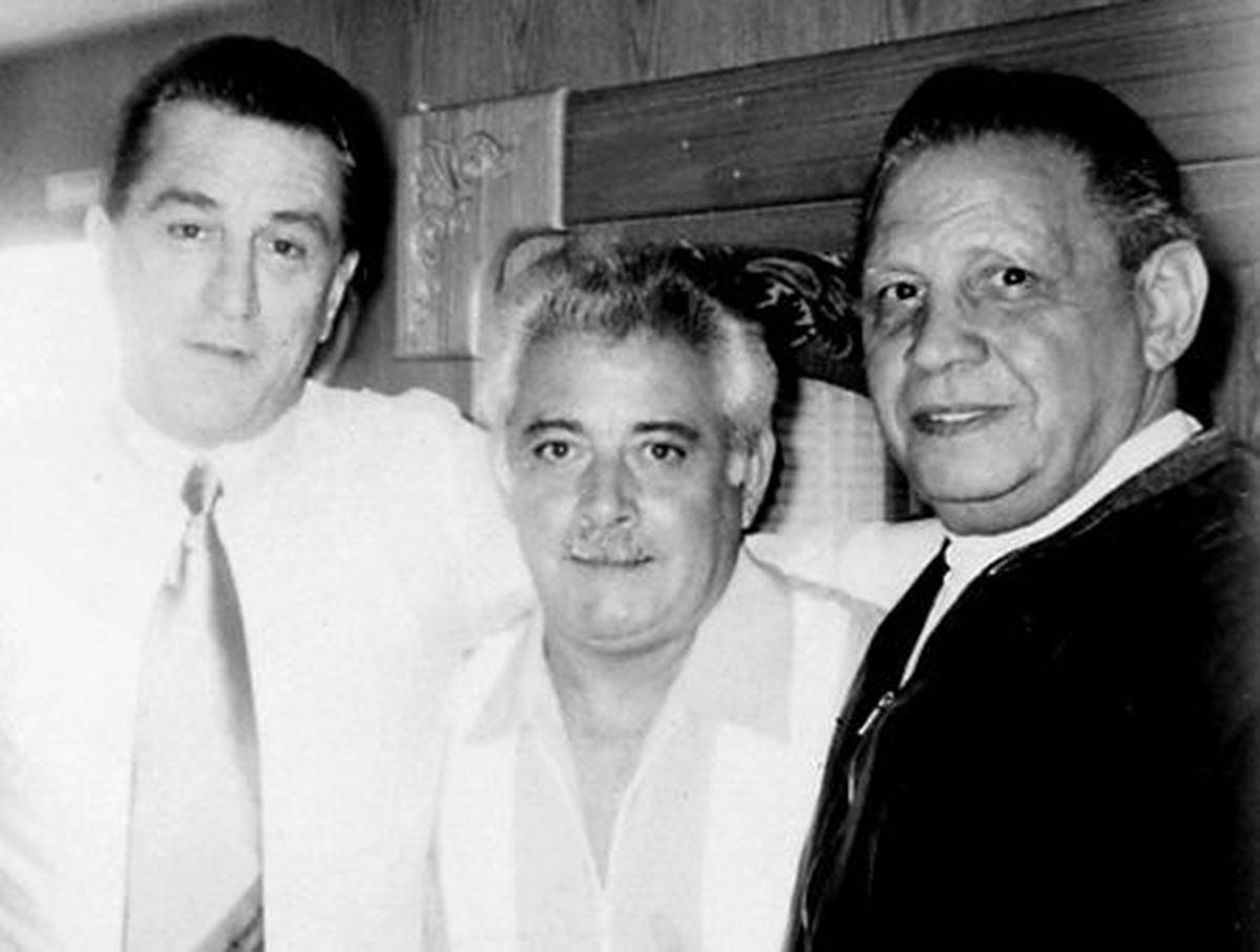 Robert De Niro with Anthony Ruggiano