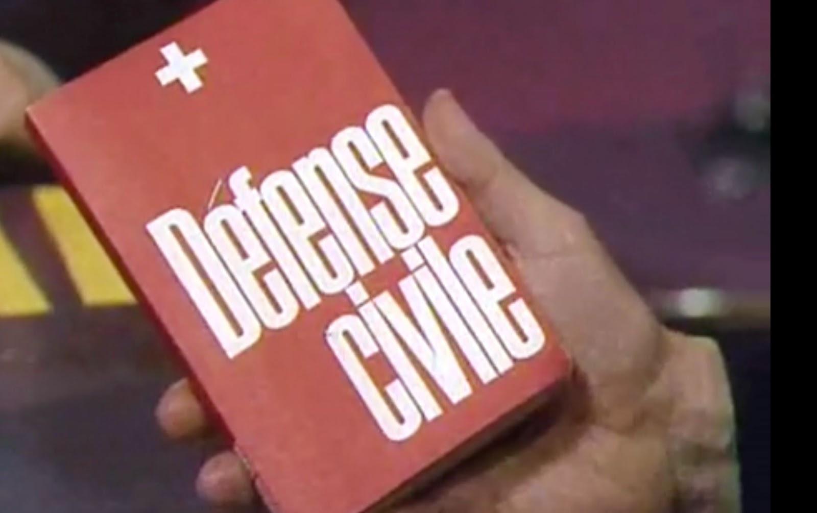 Defense civile Red Book