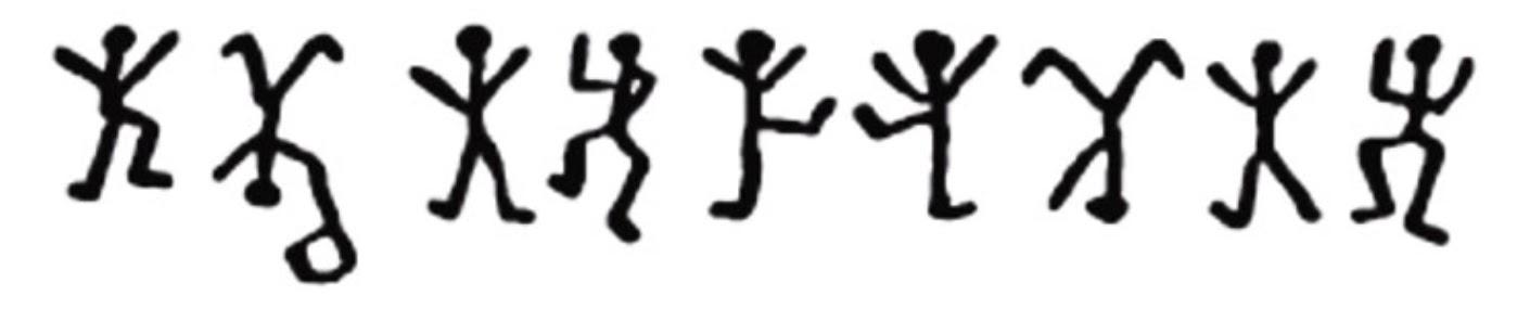 Sherlock Holmes Dancing Men Cipher