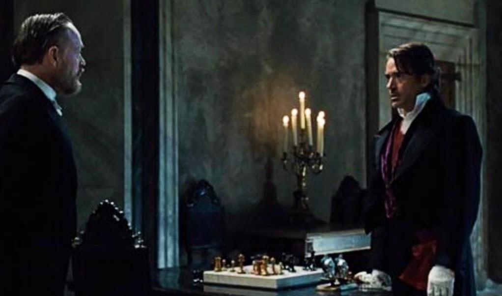 Robert Downey as Sherlock Holmes