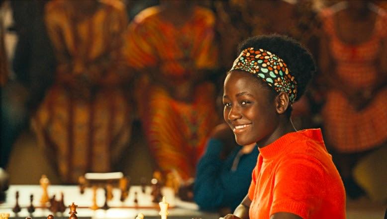 Madina Nalwanga plays Phiona Mutesi, a chess master in Uganda, in Queen of Katwe
