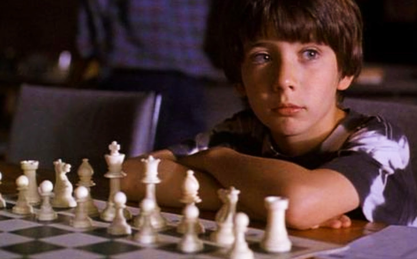 Max Pomeranc was eight when he starred as Josh Waitzkin in Searching for Bobby Fischer
