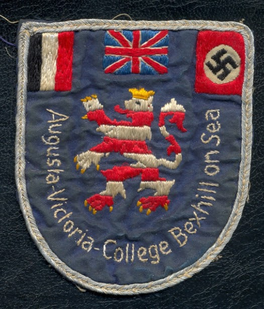 Hitler Swastika and the Union Jack