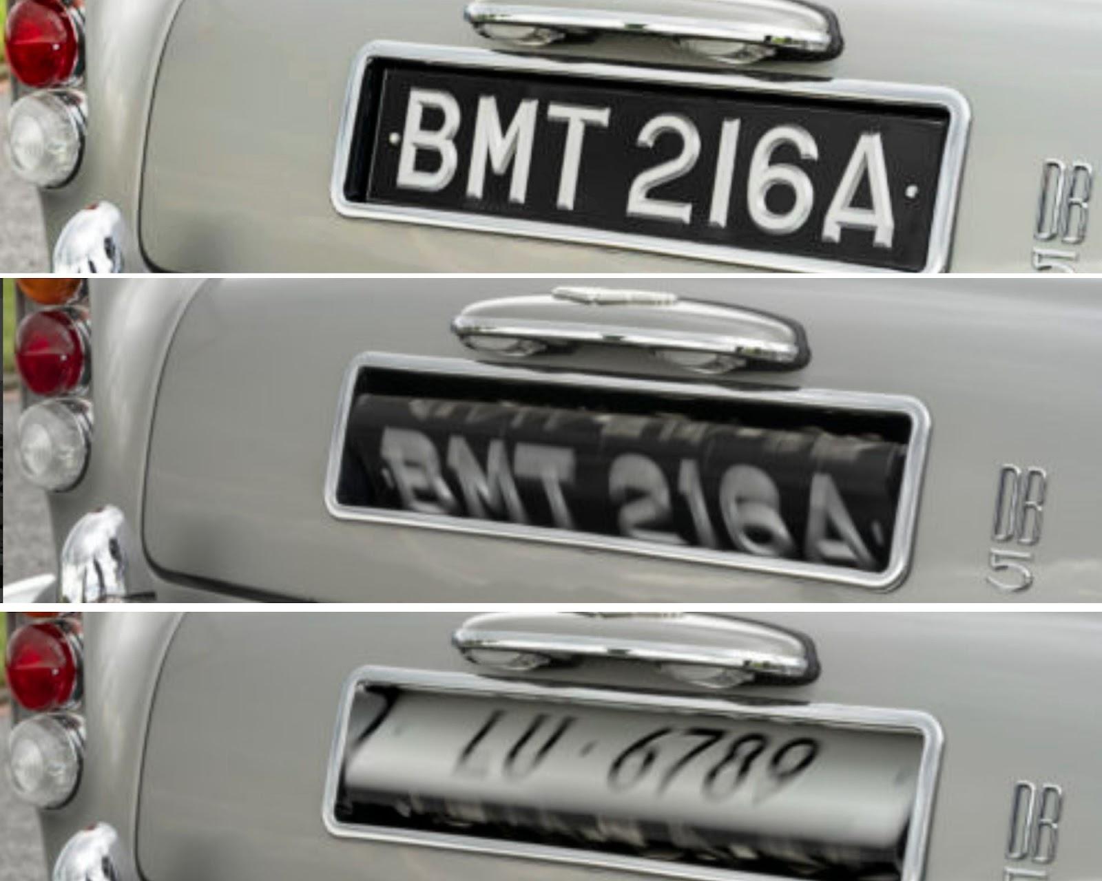 Aston Martin DB5 Goldfinger Continuation Series
