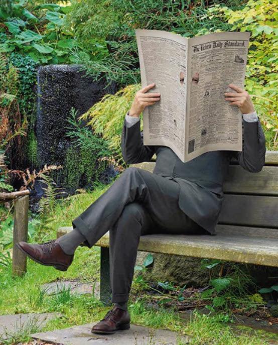 Newspaper Man, Rodney Graham
