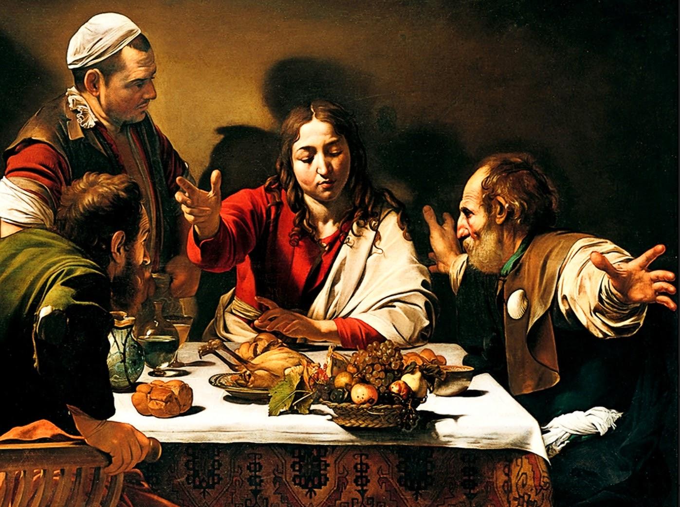 Supper at Emmaus, Michelangelo Merisi da Caravaggio